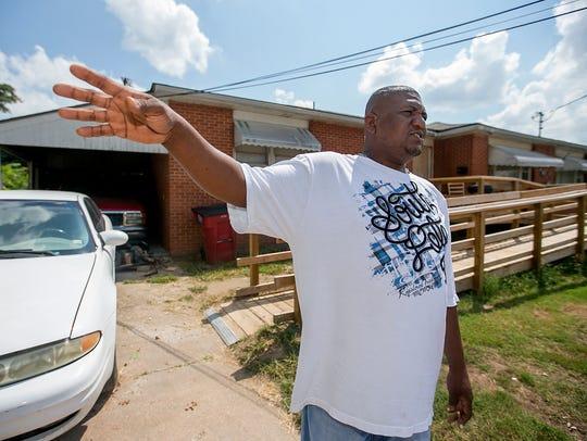 Orlando Patton talks about his neighbor Kendrick Johnson,