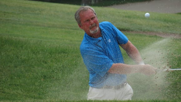 Jim McGovern of White Beeches shares the lead at the
