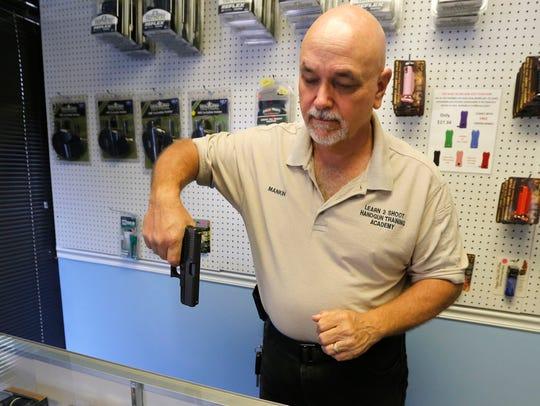 Dennis Mankin, the owner of Learn to Shoot Handgun