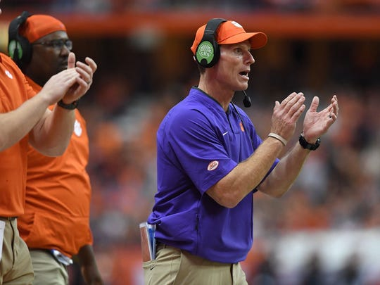 Clemson's defense finished in the top 10 nationally in each of the past three seasons under Brent Venables.