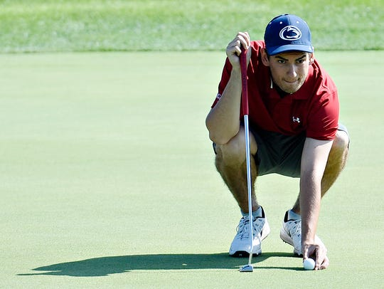 Josh Rinehart finished second at the York County Amateur,