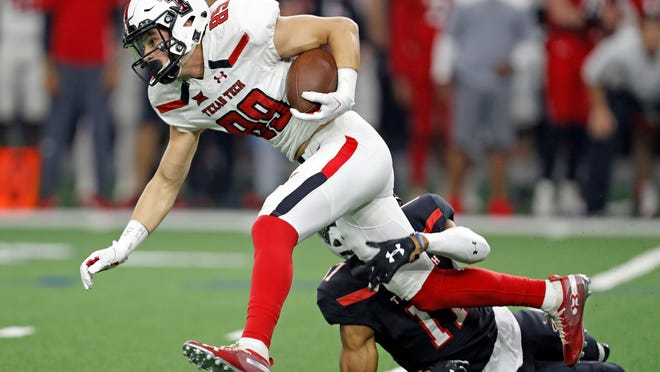 Texas Tech wide receiver Caden Leggett, who caught three passes in 2020 and was a regular on special teams, announced his intent Sunday to leave via the NCAA transfer portal. He's the 12th Tech player to do so this offseason.