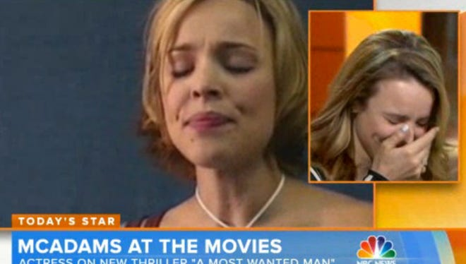 "Rachel McAdams on the ""Today"" show."