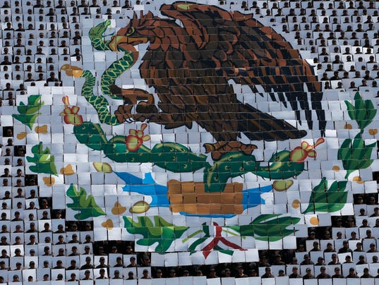 AP MEXICO INDEPENDENCE DAY I MEX