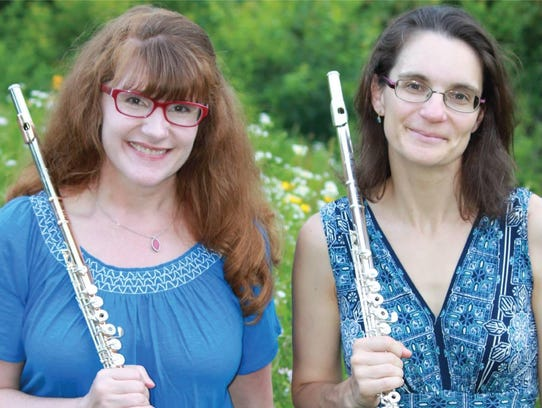 The Ithaca Flute Duo will release its new album Sunday