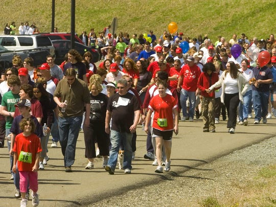 Events like the Southern Tier Heart Walk raise money for charity while also helping you with fitness goals.