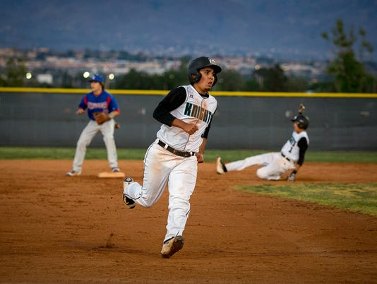Onate High School versus Las Cruces High School Prep Baseball