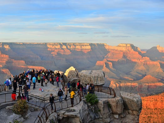 Grand Canyon - Mather Point Sunset  The 2010 Mather