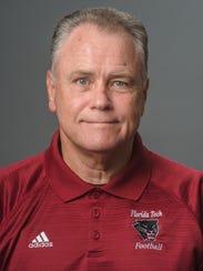 FIT defensive coordinator Rick Minter