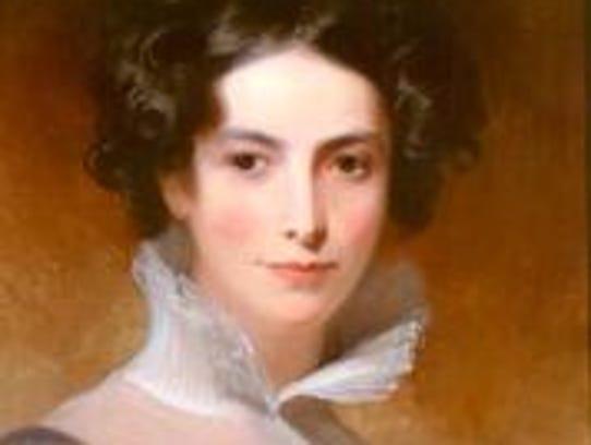 Thomas Sully, American, born England, 1783-1872, Rebecca