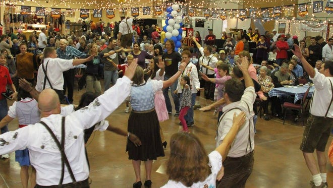 The Ruidoso Oktoberfest set for Friday and Saturday, at the Ruidoso Convention Center, 111 Sierra Blanca Drive.