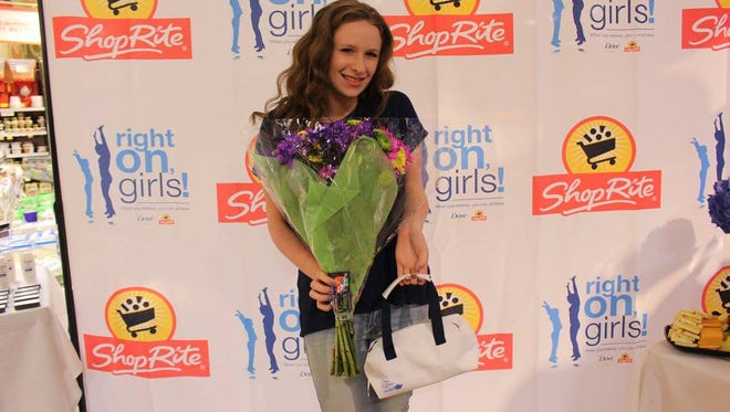 Southampton's Sarah Jamerson was named as a grand prize winner of Dove Right On, Girls Scholarship winner and was honored at the ShopRite of Medford on May 5.