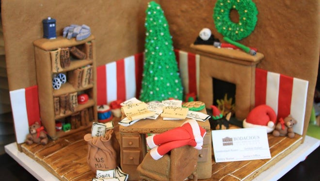 The Bodacious Family of Shops will host its fourth annual gingerbread house contest on Dec. 9.