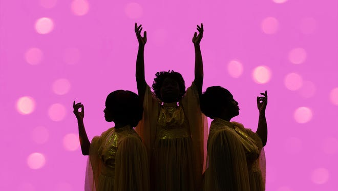 "A promotional photo for The Carnegie's production of ""Dreamgirls,"" running Aug. 11-26"