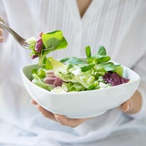Summertime is the best time to enjoy salads.