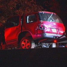 One person was killed and another was seriously injured when their SUV overturned on I-75 in Clayton County