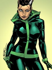 The character Rogue as conceived by its original artist,