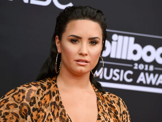 AP PEOPLE-DEMI LOVATO A ENT FILE USA NV