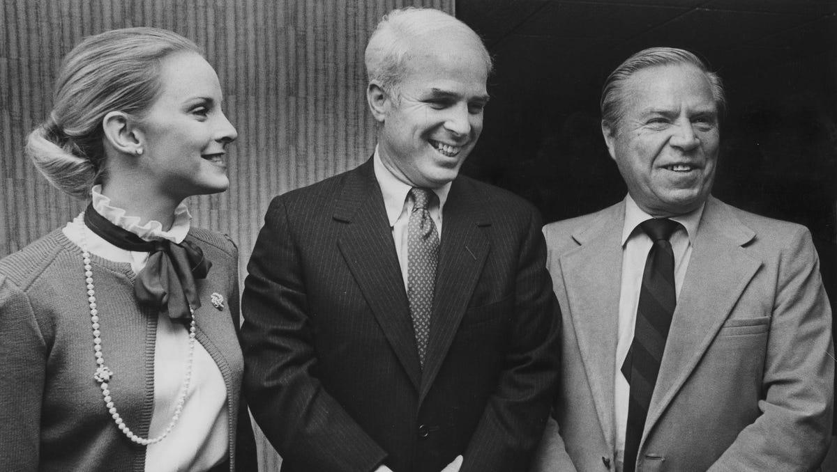 Young carol mccain John McCain