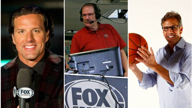 Tyson Nash, Bob Brenly and Steve Albert top our list of local sports announcers.