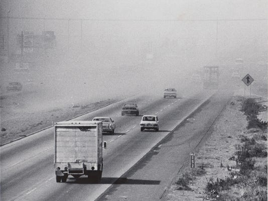 Arizona Then and Now: Dust storms