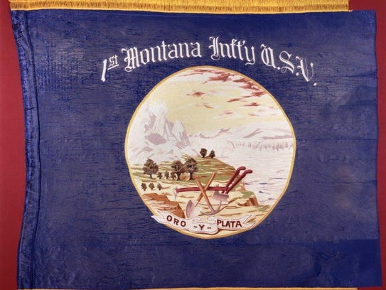 This is the original banner for Montana. USV stands