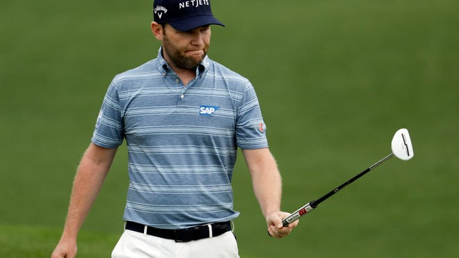 Branden Grace was one birdie out of the lead at the Barracuda Championship and now can't play next week in the PGA Championship.