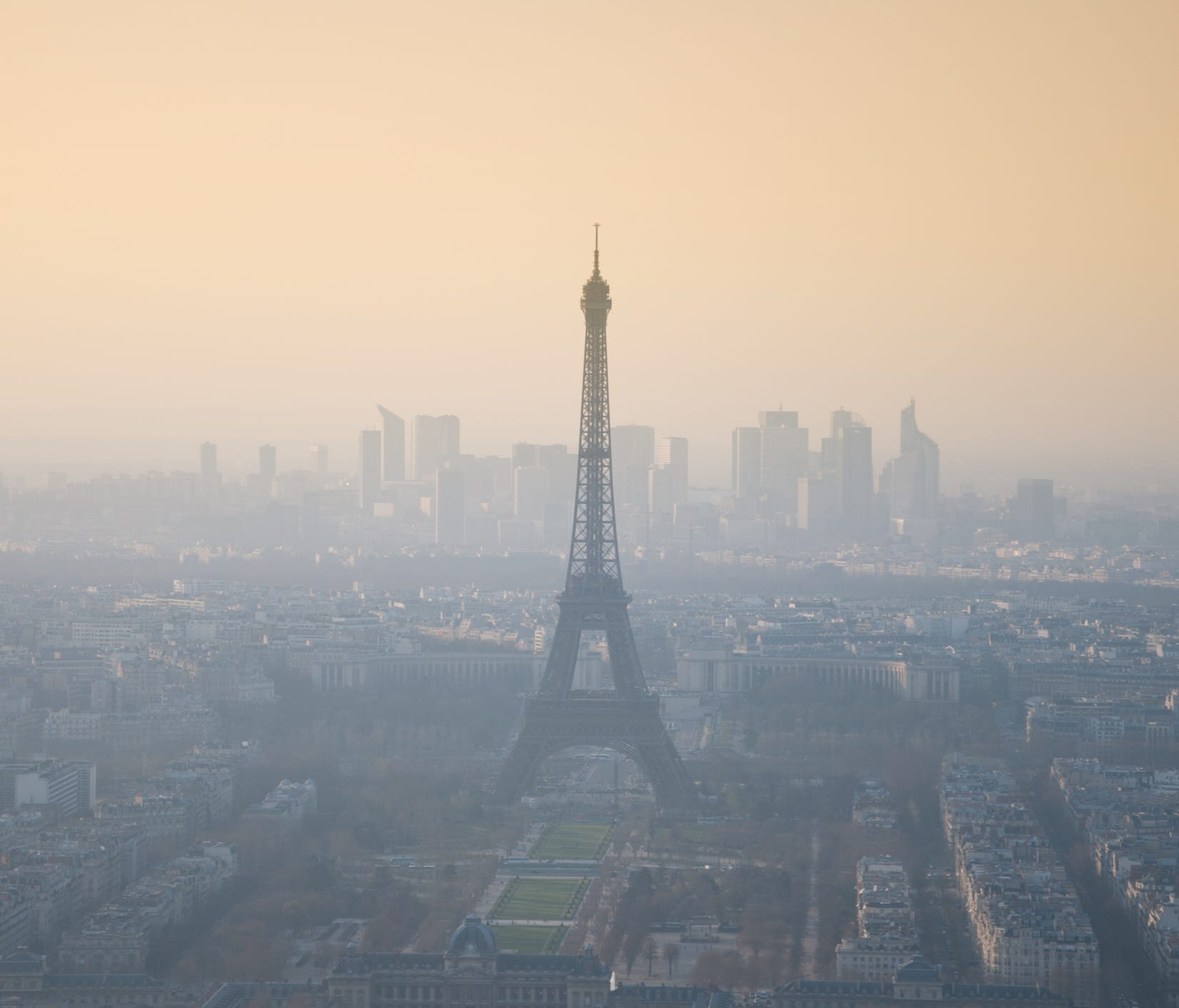 Paris: Paris, which has gone so far as to ban old-model cars (pre-1997) in an effort to go green, is still striving to fight car emissions that contribute to its poor air quality. Paris public transit is free to passengers on days with high smog, a m