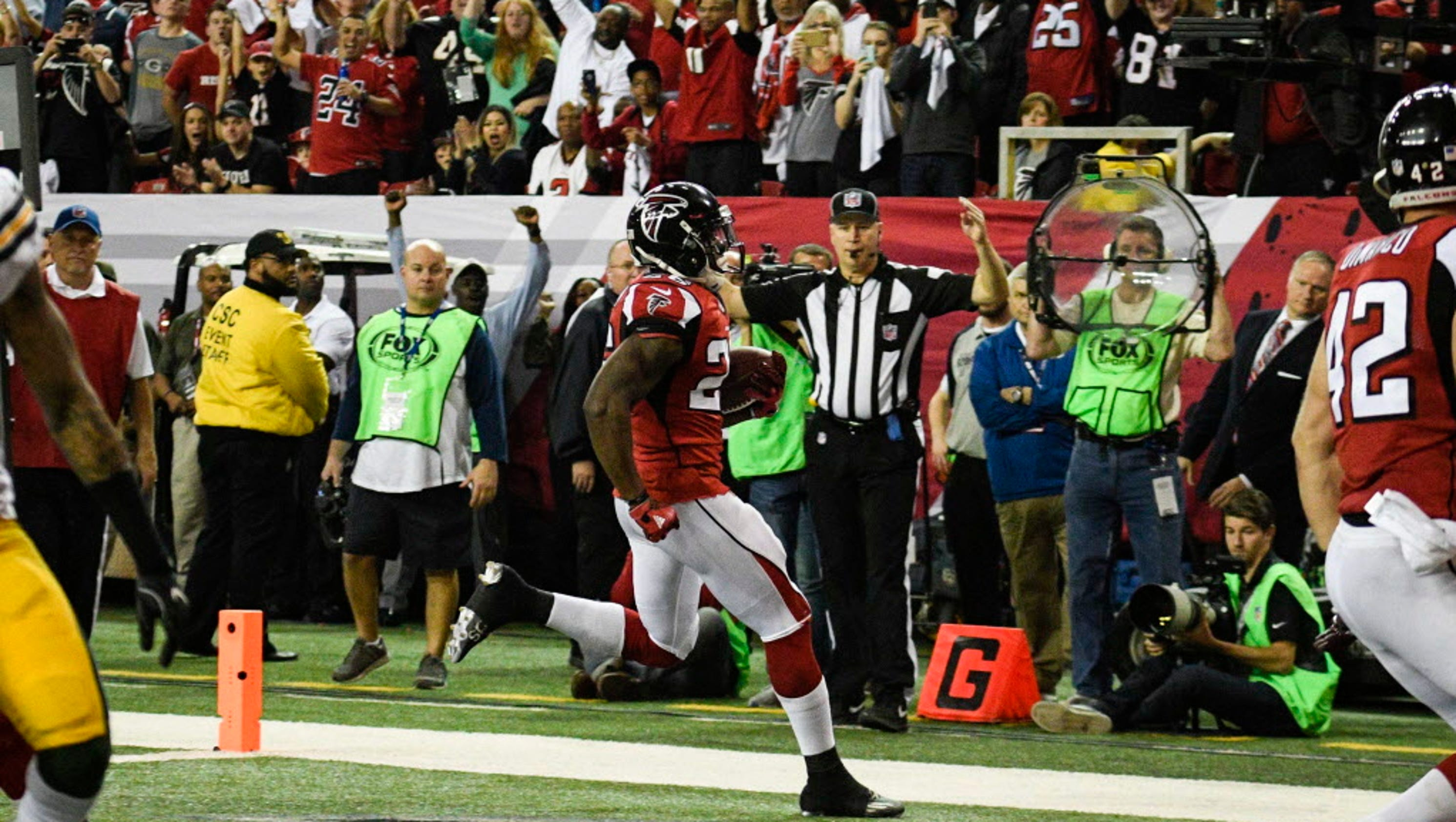 packers falcons box score sports nfl football