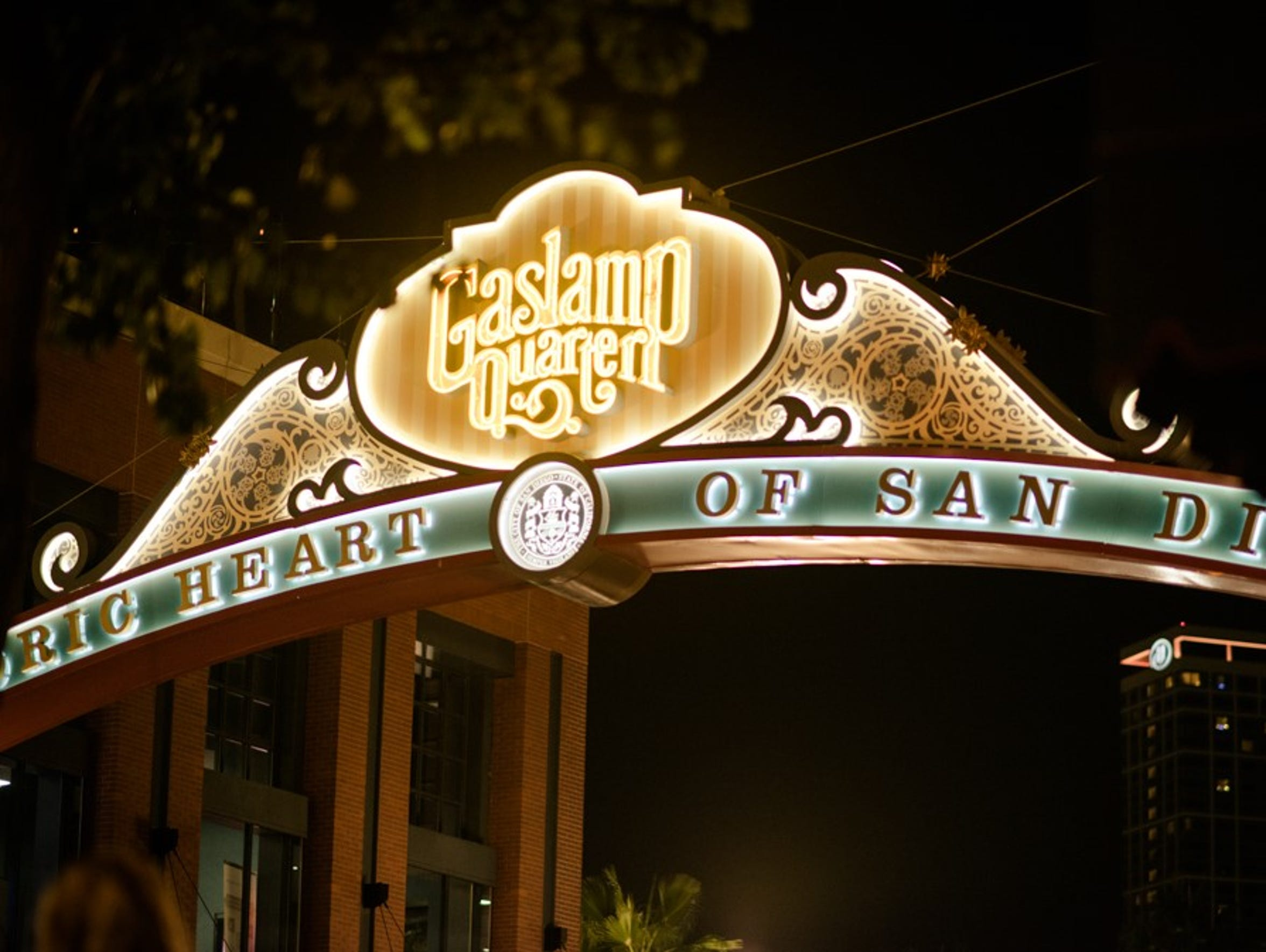 The Gaslamp Quarter is San Diego's party central with