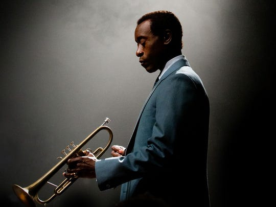 "Don Cheadle plays jazz great Miles Davis in ""Miles"