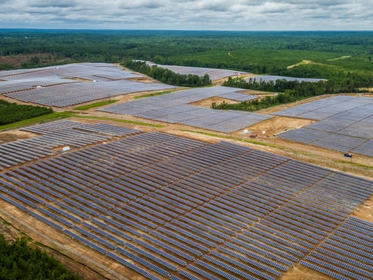 Mississippi Power officials say their new solar facility