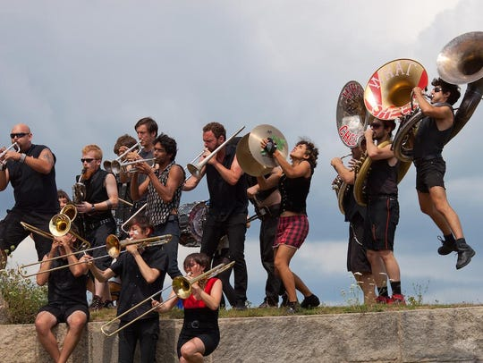 What Cheer? Brigade performs Thursday at the Dock.