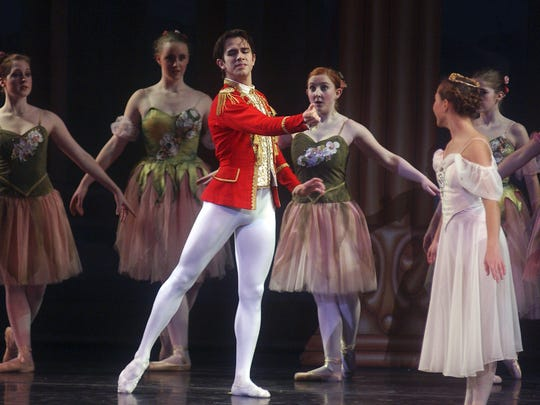 """The Central Wisconsin School of Ballet will bring """"The Nutcracker"""" to life this weekend at The Grand in downtown Wausau"""