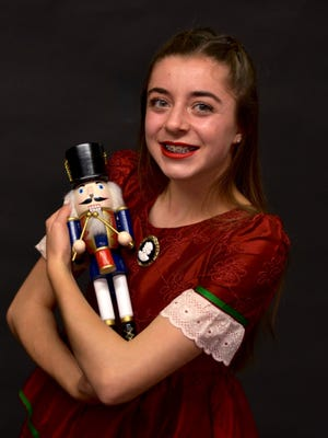 "Megan Faherty appears in the Mann Dance Academy production of ""The Nutcracker"" this weekend at San Juan College."