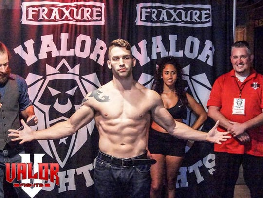 Charlie Alexander will take to the cage for a mixed