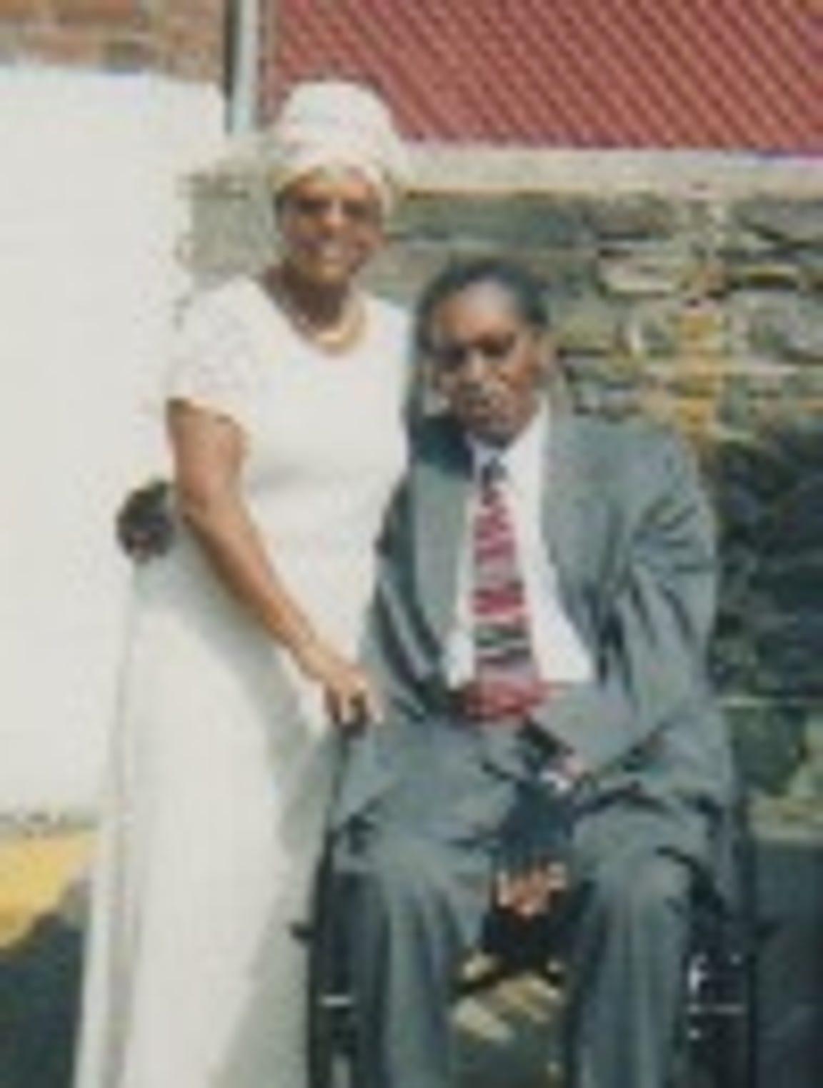 The Rev. Emma Loftin-Woods said her grandson was arrested