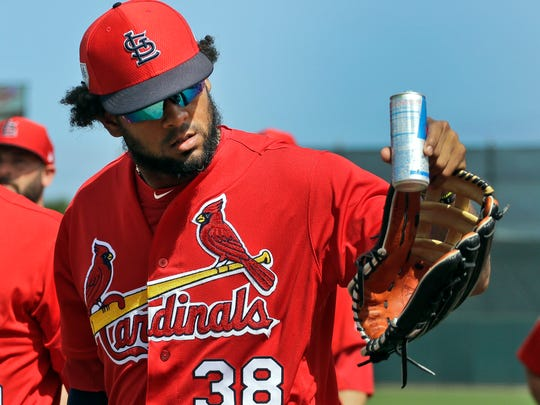 Jose Martinez helps give the Cardinals a strong and deep bench.