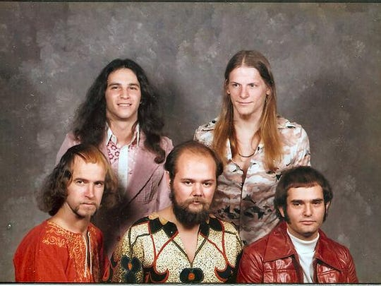 Coming across an old photo of his band, Steve Davidowski