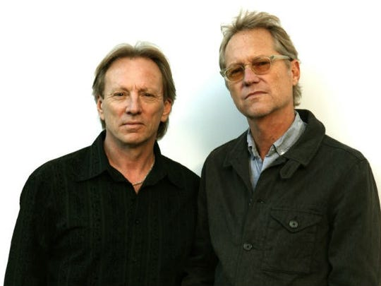 Two of the original members of America, Dewey Bunnell  (left) and Gerry Beckley, bring the band's classic sound to Atlantic City this weekend.