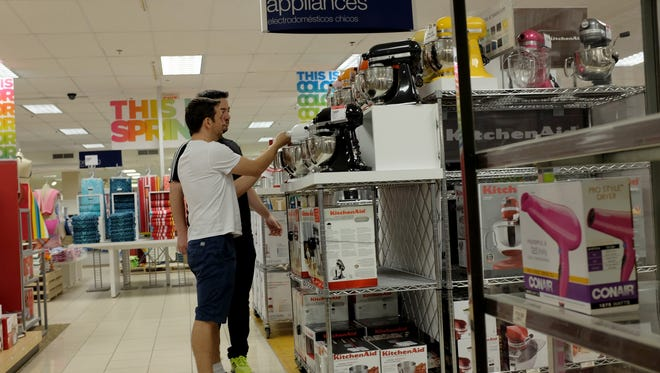 A Sears store is seen on February 28, 2014 in Coral Gables, Florida.