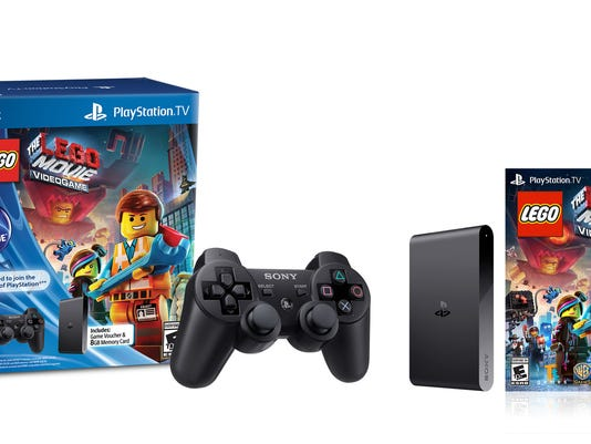PlayStation TV with games