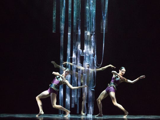 """Ballet Arizona performs """"Threads,"""" choreographed by"""
