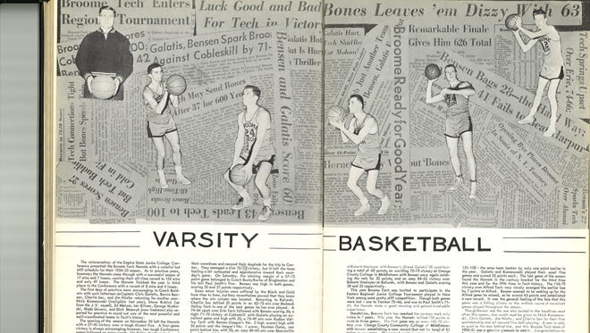 The Broome Tech 1954 yearbook.