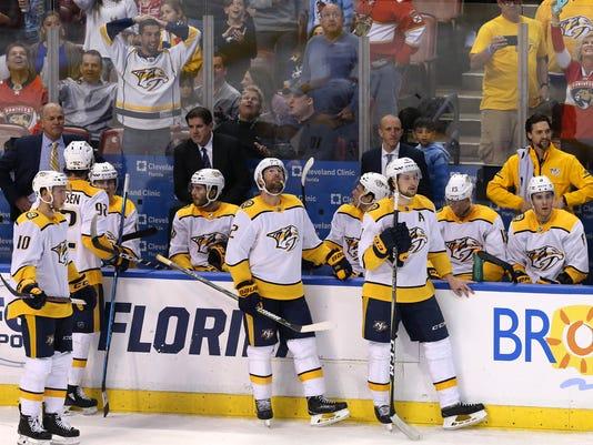 NHL: Nashville Predators at Florida Panthers