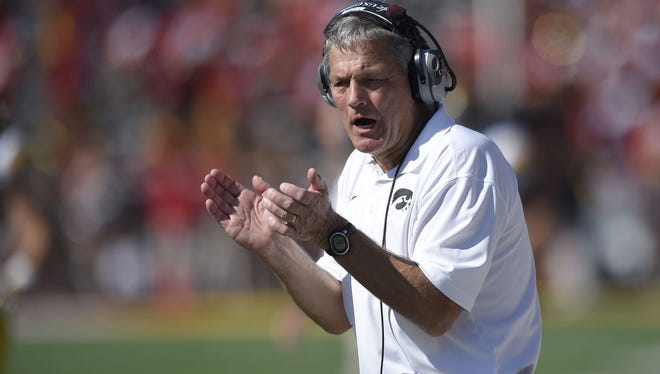 Iowa coach Kirk Ferentz gets another prospect from Florida