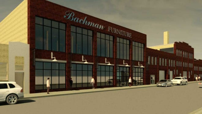 Bachman Furniture Gallery is moving from Milwaukee's northwest side to a renovated former industrial building in the Menomonee Valley.