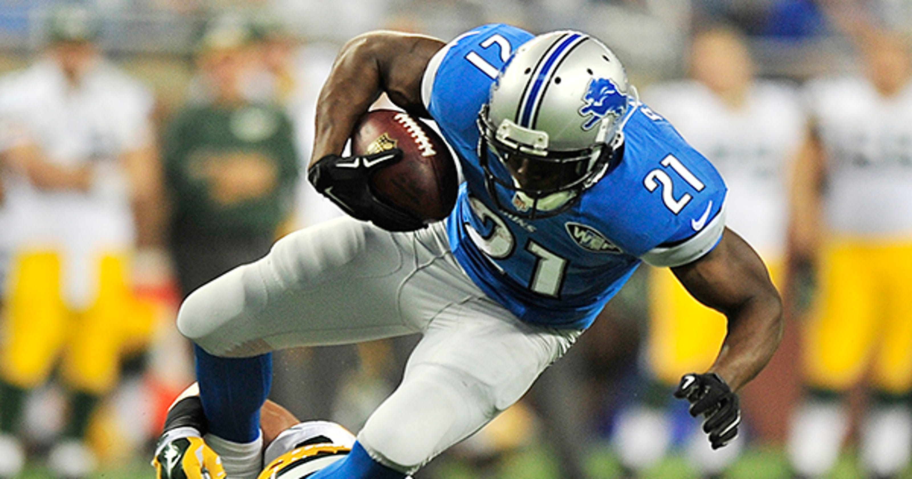 Lions' Reggie Bush might have to be workhorse vs  Bills