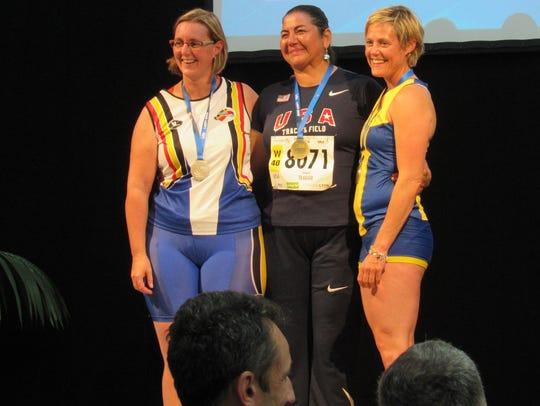 El  Pasoan Elizabeth Teague was all smiles after winning