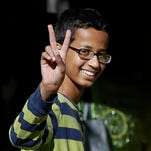 Ahmed Mohamed at his house in Irving, Texas, on Sept. 17, 2015.